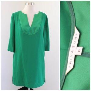 Trina Turk Solid Shift Dress